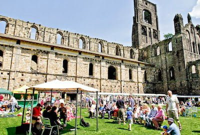 Kirkstall Abbey is the home to two popular markets.