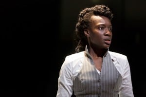 5Ony Uhiara as Anna in ANNA KARENINA (Royal Exchange Theatre until 2 May). Photo - Jonathan Keenan