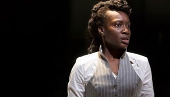 5Ony Uhiara as Anna  in ANNA KARENINA (Royal Exchange Theatre until 2 May).  Photo - Jonathan Keenan - featured image