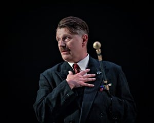 Reece Dinsdale in Richard III. Photo Anthony Robling