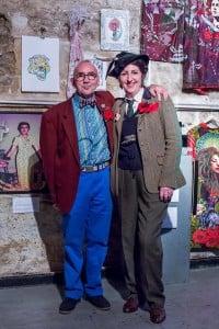 Kathy and her husband, Derek