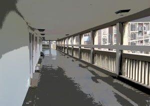 Park Hill Grey Corridor