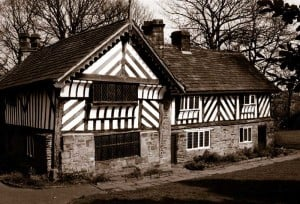 The Tudor Bishop's House in Meersbrook Park