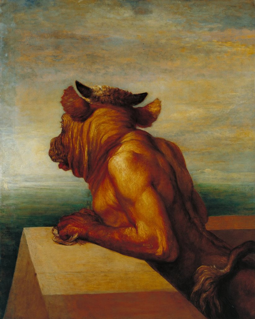 George Frederic Watts's 'The Minotaur'
