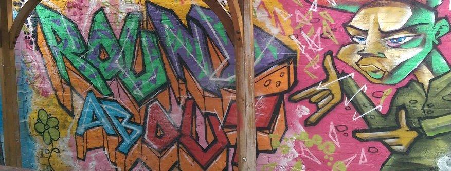 Roundabout Graffiti