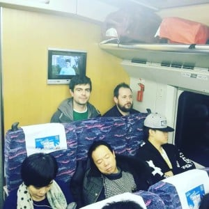 That Fucking Tank on train in China.