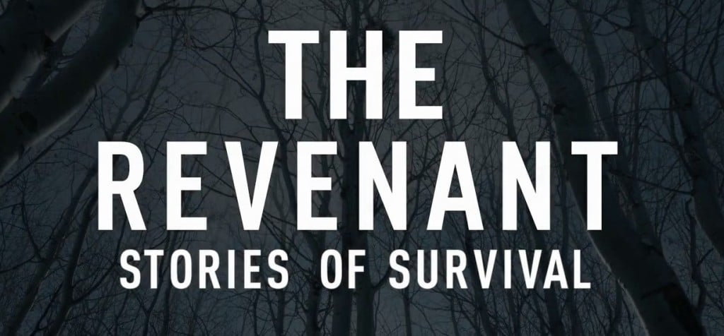 The Revenant - Shouldn't Be Alive - titles