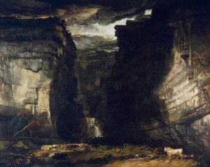 James Ward: Gordale Scar (A View of Gordale, in the Manor of East Malham in Craven, Yorkshire, the Property of Lord Ribblesdale)