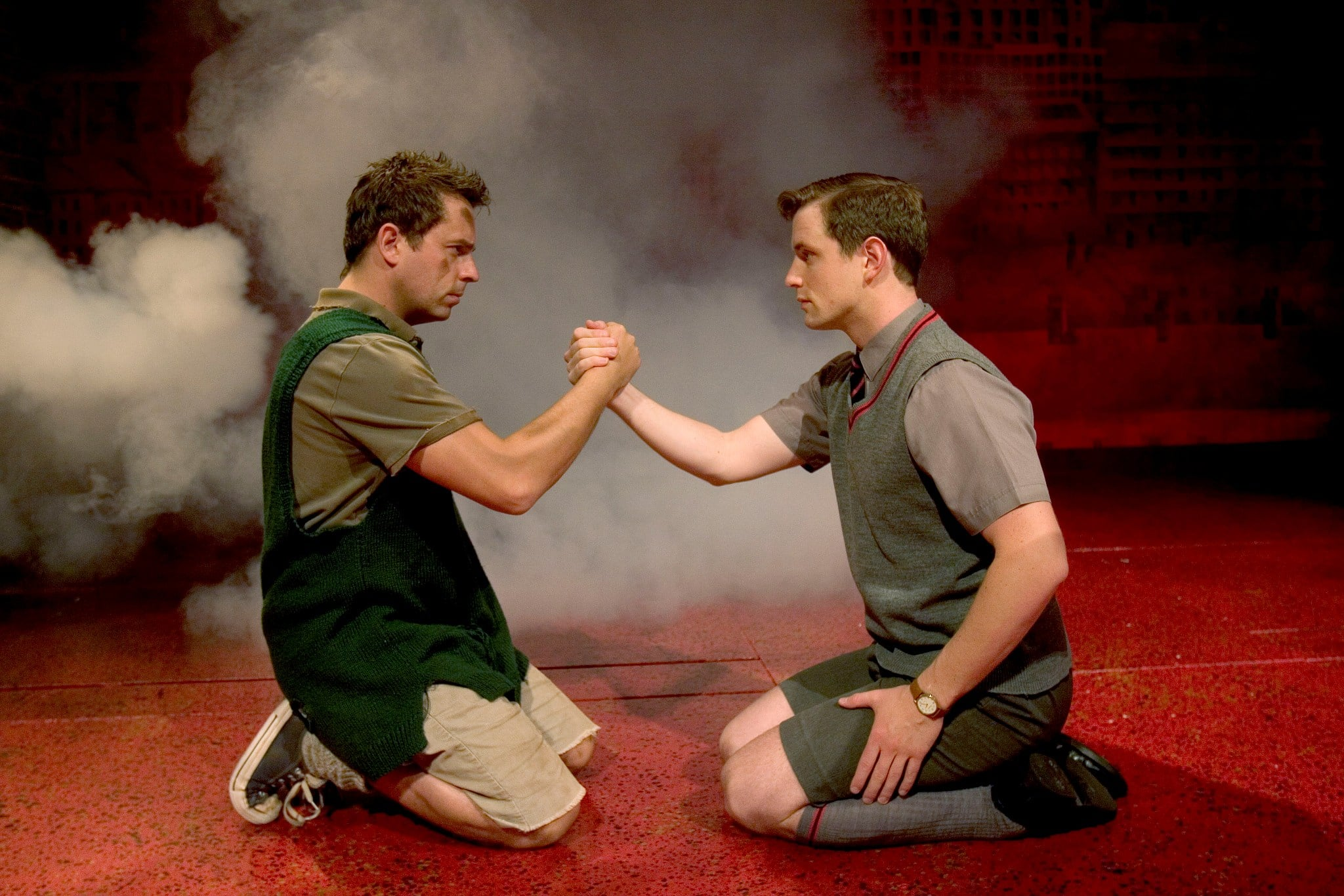 interview blood brothers stars lyn paul and sean jones the interview blood brothers stars lyn paul and sean jones
