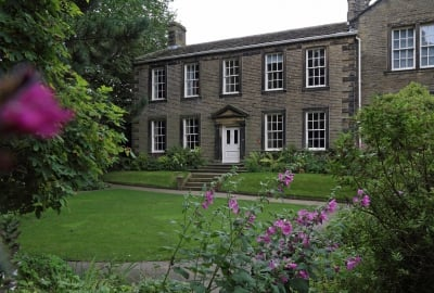 Brontë Parsonage Courtesy of the Brontë Society