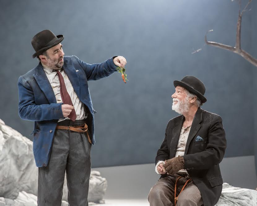 WAITING FOR GODOT by Beckett, , Writer - Samuel Beckett, Director - Charlotte Gwinner, Designer - Simon Daw, Lighting - Mark Doubleday, Sheffield Theatres, 2016, Credit: Johan Persson/