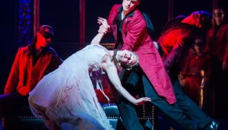 Photo: Ashley Shaw and Adam Maskell in Sleeping Beauty.© Foteini Christofilopoulou.