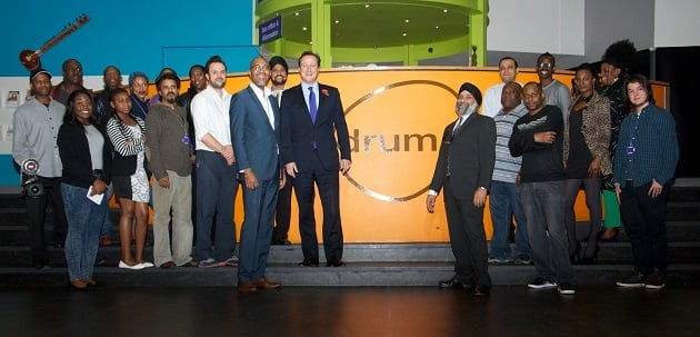 Source: The Drum Welcomes David Cameron To Discuss Birmingham's Business Future, 2013