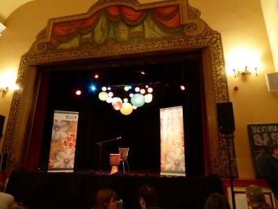 Victoria Hall Stage