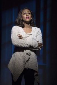 1. Alexandra Burke as Rachel Marron in THE BODYGUARD. Photo by Paul Coltas