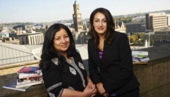 Irna Quereshi and Syima Aslam