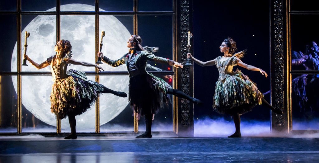 SLEEPING BEAUTY by Bourne, , Director and Choreographer - Matthew Bourne, Designer - Lez Brotherston, Lighting - Paule Constable, New Adventures, Theatre Royal, Plymouth, 2015, Credit: Johan Persson/