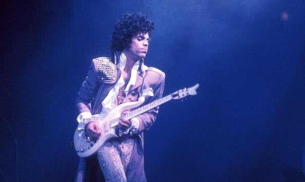 Prince in 1985 Courtesy of Michael Ochs Archive