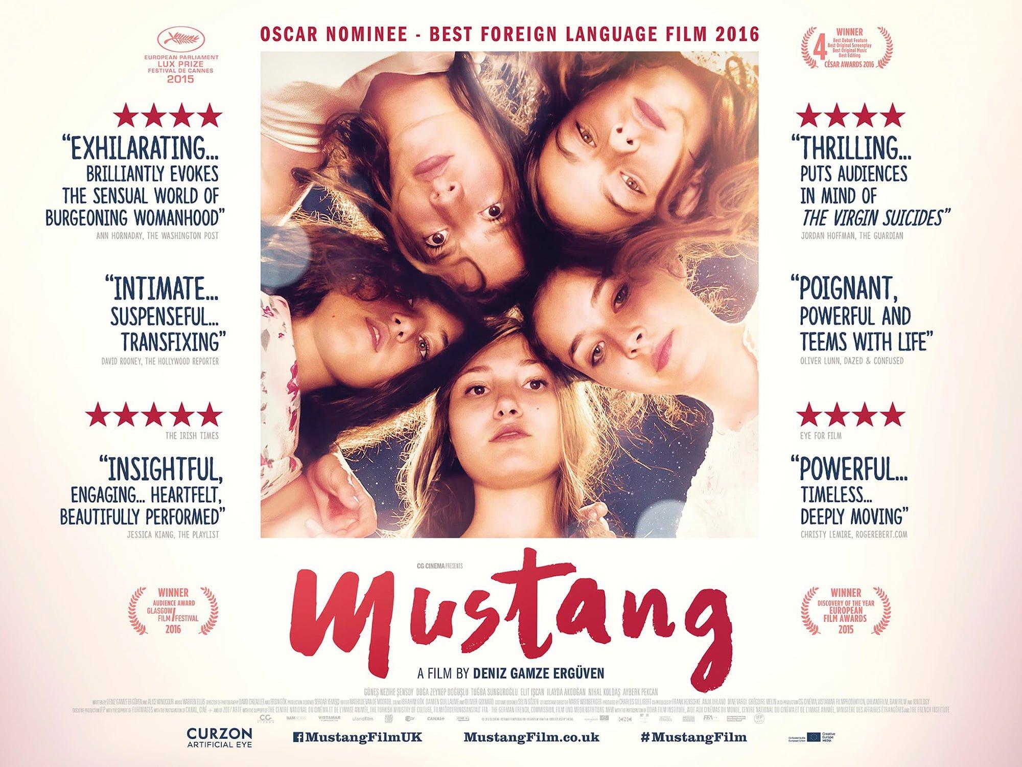 mustang poster deniz film gamze state turkey rights