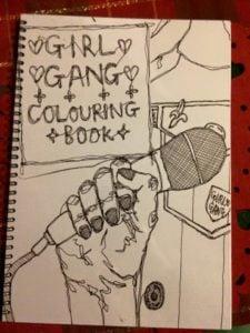 Girl Gang Colouring Book