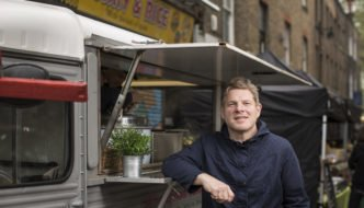 Richard Johnson, organiser of the British Street Food Festival, Photographer: Jason Alden
