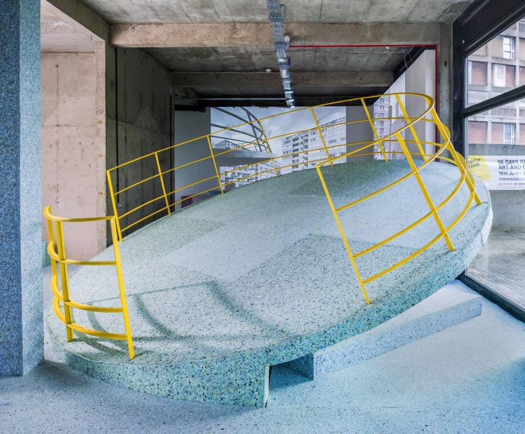 Assemble and Simon Terrill, The Brutalist Playground. Images courtesy of the artists and S1 Artspace. Photography by Alun Bull.