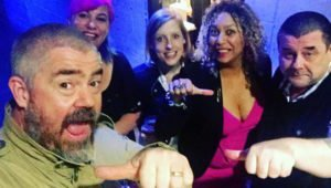 Stand Up & Spit at The Roundhouse -- Phill Jupitus, Kate Fox, Sophie Cameron, Salena Godden, Tim Wells