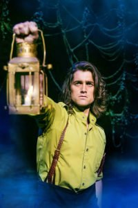Bradley Jaden as Fiyero, photo Matt Crockett