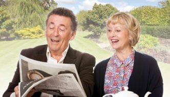 Relatively Speaking Robert Powell & Liza Goddard