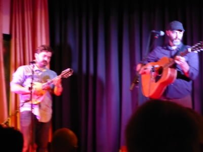 Cahalen Morrison and Eli West. Photo: Mike Farren