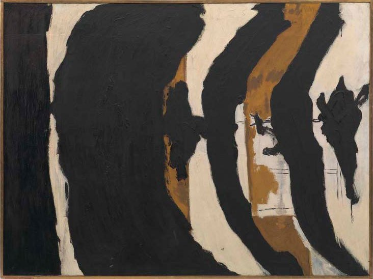 Robert Motherwell's 'Wall Painting No III', 1953.