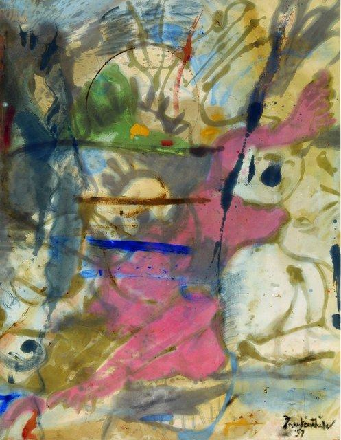 Helen Frankenthaler's 'Europa, 1957.