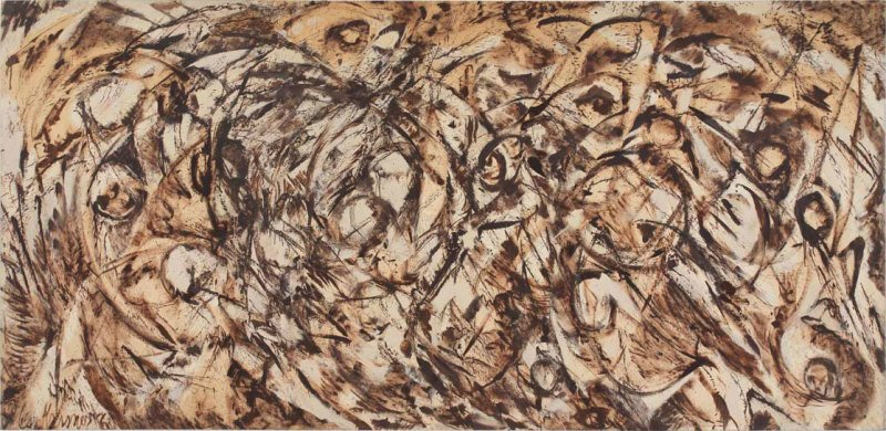 Lee Krasner's 'The Eye is the First Circle', 1960.