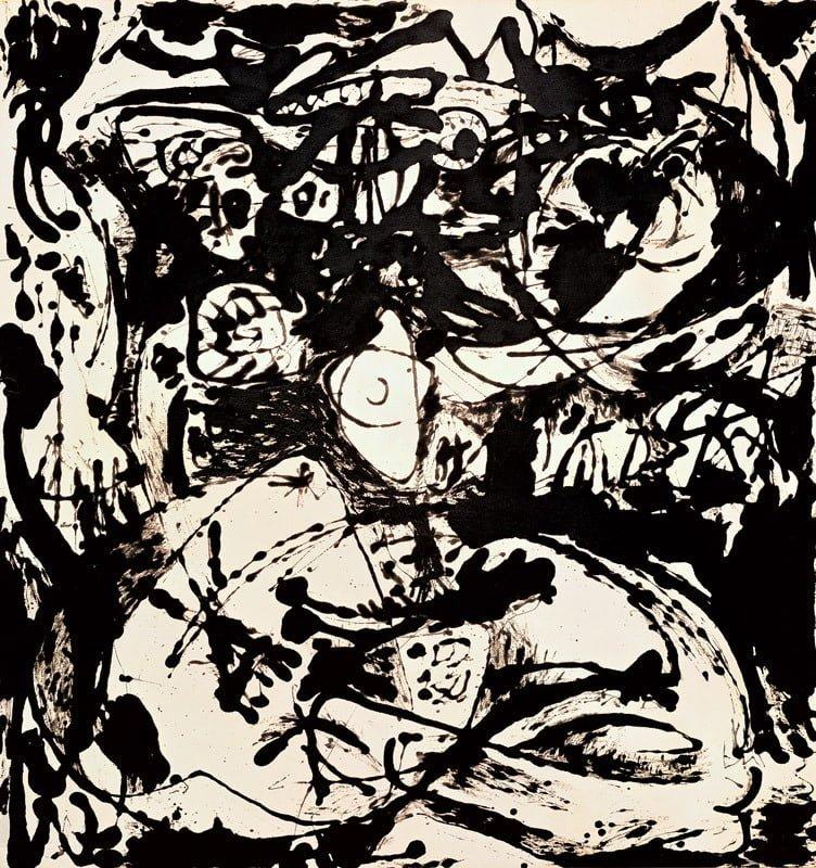 Jackson Pollock, 'Number 18', 1951