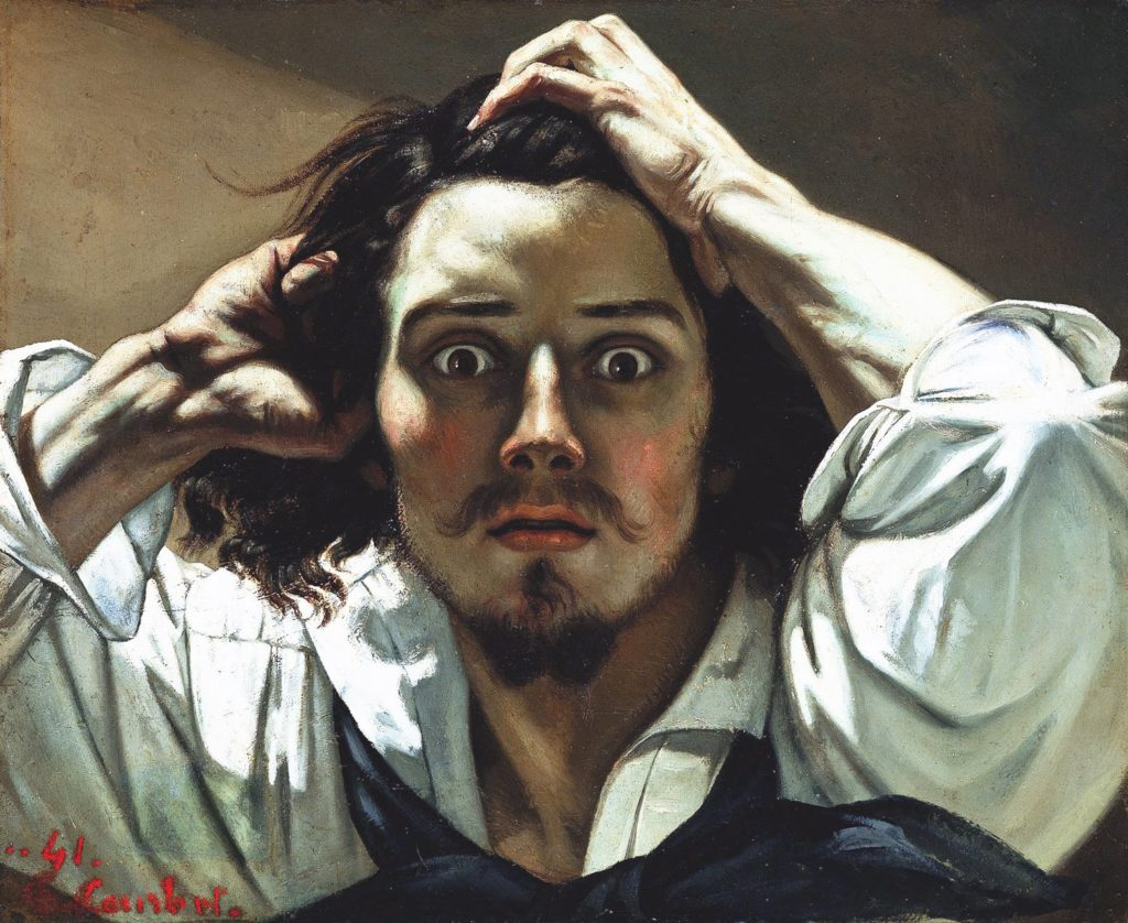 Gustav Corbet, 'Self Portrait (The Desperate Man)', c. 1843–45