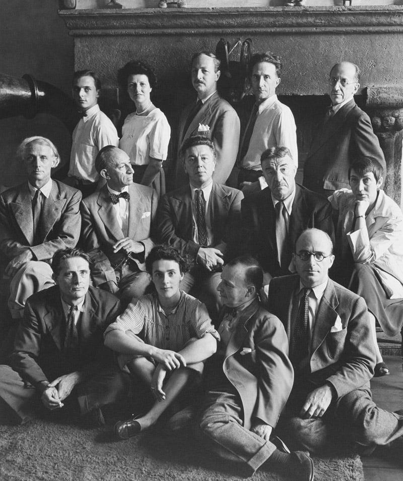 The Surrealists, New York Fall, 1942. Photo: Hermann Landshoff