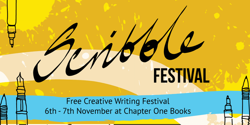 Photo Credit: Scribble Festival - Chapter One Books