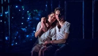 Tessa Parr as Juliet and Dan Parr as Romeo. Photography by Anthony Robling (2)