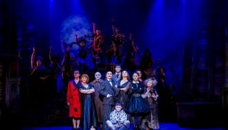The cast of THE ADDAMS FAMILY. Credit Matt Martin 3