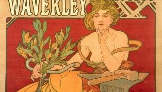 Waverley Cycles, 1898 © Mucha Trust 2016