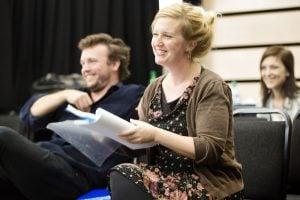 Pride and Prejudice director Susannah Tresilian in rehearsal