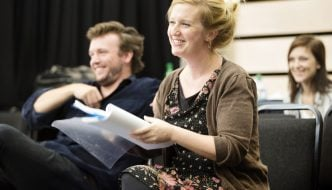 Pride and Prejudice director Susannah Tresilian in rehearsal