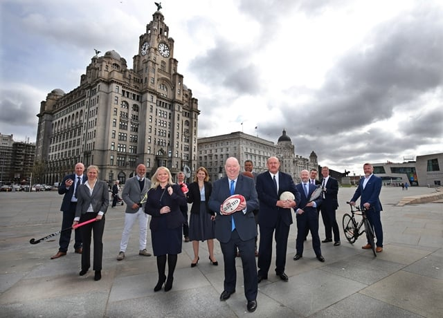 Liverpool Council image... Commonwealth Team pic.. Images by Gareth Jones