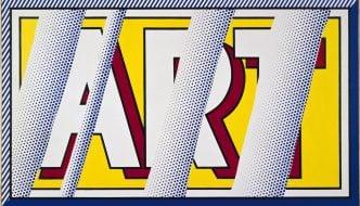Roy Lichtenstein Reflections Art 1988