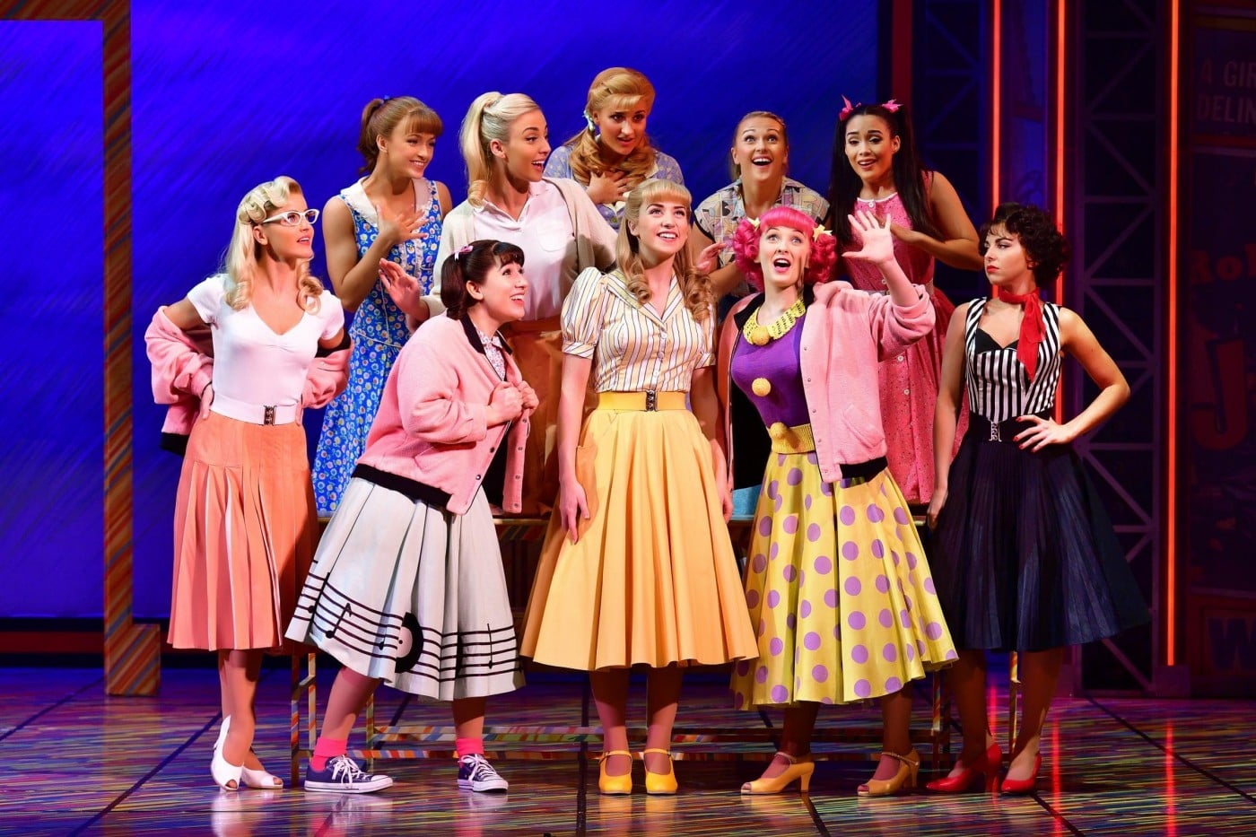 Grease At The Alhambra Theatre Bradford The State Of